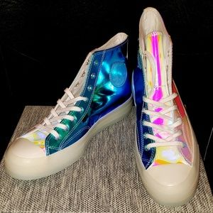 New converse sneakers mens size 9 womens size 11